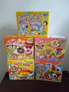 Kracie edible food playdoh from japan