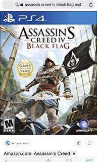 Assassin creed iv ps4