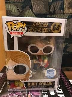 Kurt Cobain Funko Shop Exclusive FS/FT