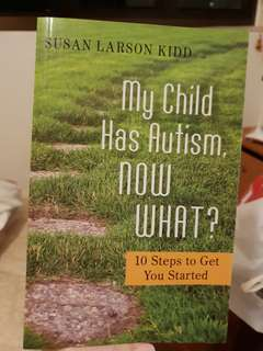 My child has autism, now what? New, free delivery
