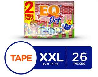 EQ Dry XXL 26pcs (Tape)