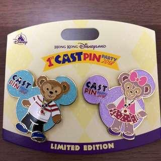 Disney pin 迪士尼襟章 徽章 LE500
