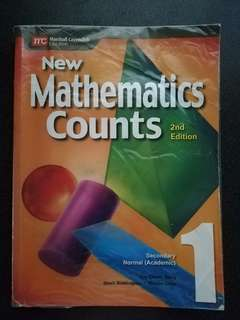 New Mathematics Counts Book 1(Marshall Cavendish)