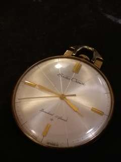 日本精工Seiko Crown機械古董21石手動上鏈懷錶