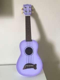 MAKALA dolphin purple ukulele