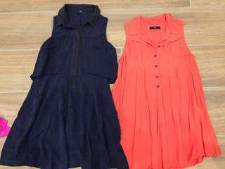2 x cue dresses size 6