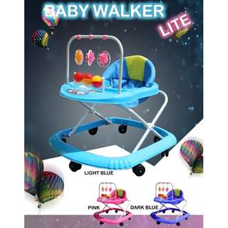 Groovy Baby Walker With Catch-up Toys To Encourage Walking