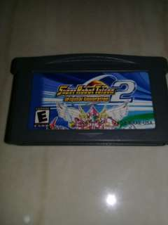Nintendo gameboy Advance Super Robot Taisen 2 (Bootleg)