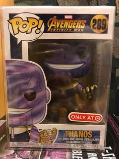 Thanos Metallic Target Funko Exclusive FS/FT