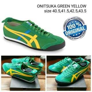 Sepatu Onitsuka Original Green