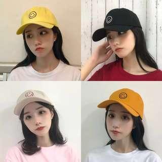 Smile Emoji Cap