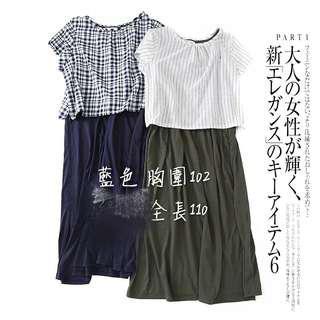 🚚 假兩件洋裝(藍色)