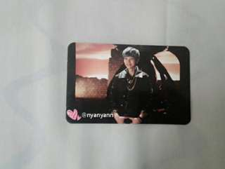 [WTS Only] BAP Zelo One Shot Photocard