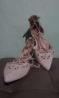 Aldo lace up flats