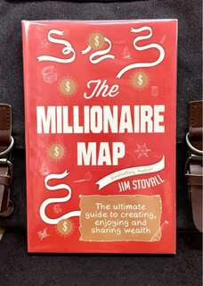 《Bran-New + You Can't Expand Your Wallet Until You Expand Your Mind》Jim Stovall - THE MILLIONAIRE MAP : The Ultimate Guide to Creating, Enjoying, and Sharing Wealth
