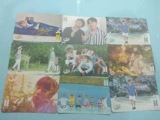 Bts Yes Card 專輯卡
