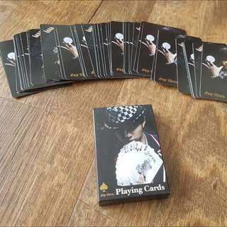 Jay Chou poker cards