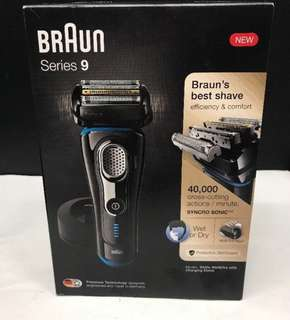 Braun Series 9 ( Model 9240s Wet & Dry with Charging Stand )