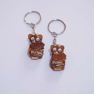 Bohol Tarsier Souvenir Keychains