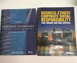 MBA - Business Ethics & Governance