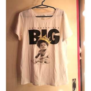 F21 Notorious BIG shirt