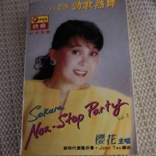 Cassette 樱花
