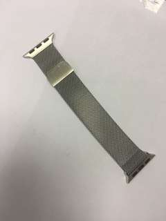 Magnetic watch band for apple watch 38/42mm Silver