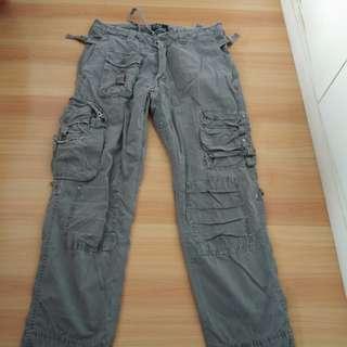 Polo Ralph Lauren Distressed Cargo Pants