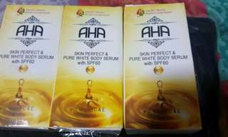 Ayesha aha serum 10 pcs for only 1,200