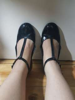 Smartfit Patent Shoes size 6.5
