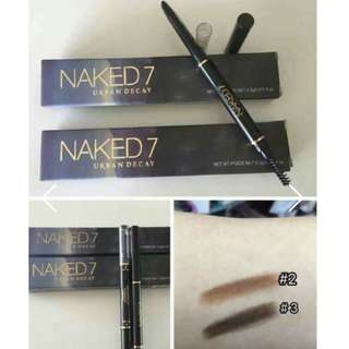 Naked 7 Eyebrow Retractable 2in1