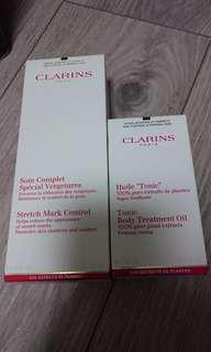 Clarins 去妊娠紋膏 + 油