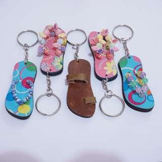 Slipper Keychains