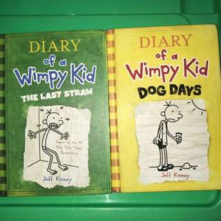 Diary of Wimpy Kid Book Import