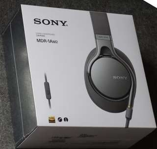 Sony MDR-1AM2 耳機 灰色 Hi-Res over-ear Headphone