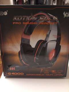 Kotion Each Pro Gaming Headset G4000(藍色)