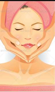 Facial and free waxing promotion!!!