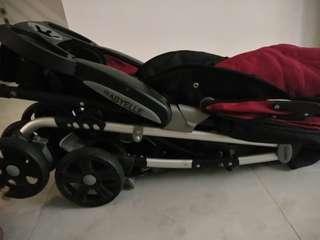 Stroller carseat babyelle dan gendongan chicco