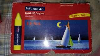 Staedtler 施德樓 高品質油畫顏色筆 Staedtler Hi quality easy gliding crayons