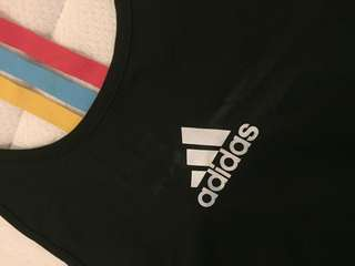 adidas original sleeveless sport shirt