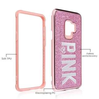 Pink Full Wrap Phone Case For iPhone 7/8/plus/X