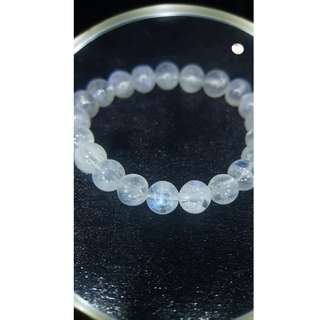 Clear Blue Moon Stone Bracelet (体透蓝月光石)