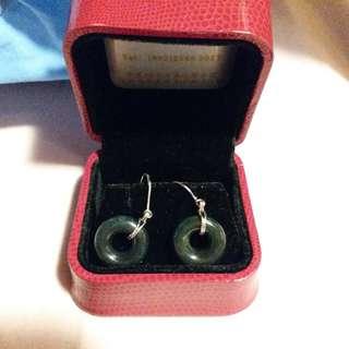 Jade Earings
