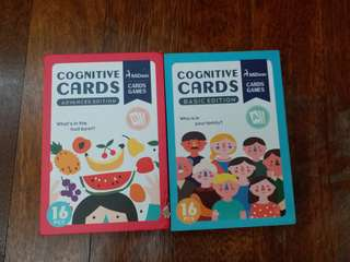 Cognitive cards games