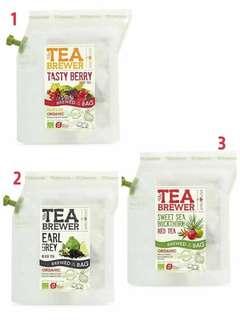 🚚 丹麥製Tea Brewer有機果茶隨身沖泡茶壺袋