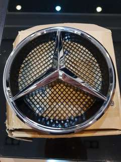 Benz賓士改裝水箱罩logo