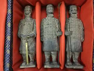 珍藏旅行紀念品兵馬俑