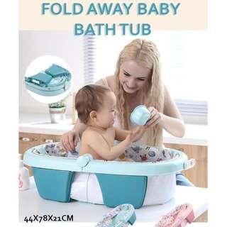 FOLD AWAY BABY BATH TUB