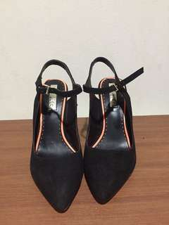 Miss kg suedette ariel heels with pointed toe
