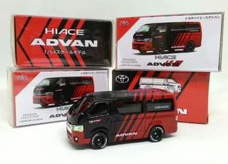 Toyota Hiace Diecast Scale Model